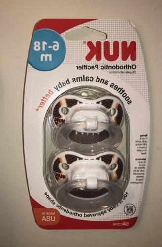 sports puller pacifier orthodontic football design 6