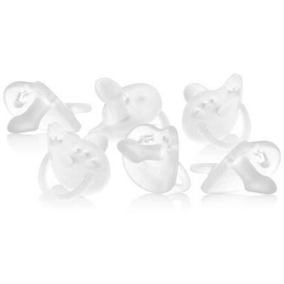 Stage 2 Orthodontic Infant Pacifier, Pack 6