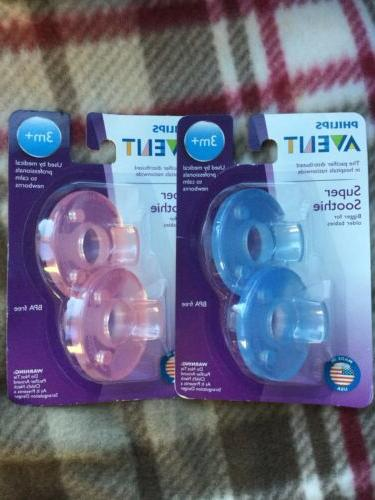 super soothie pacifier bpa free 3 month