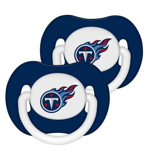 tennessee titans baby infant pacifiers 2 pack