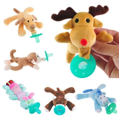 Toddler Infant Boy Silicone Pacifiers Cuddly