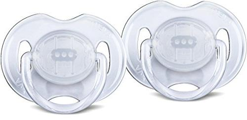 Philips AVENT Pacifiers, Clear