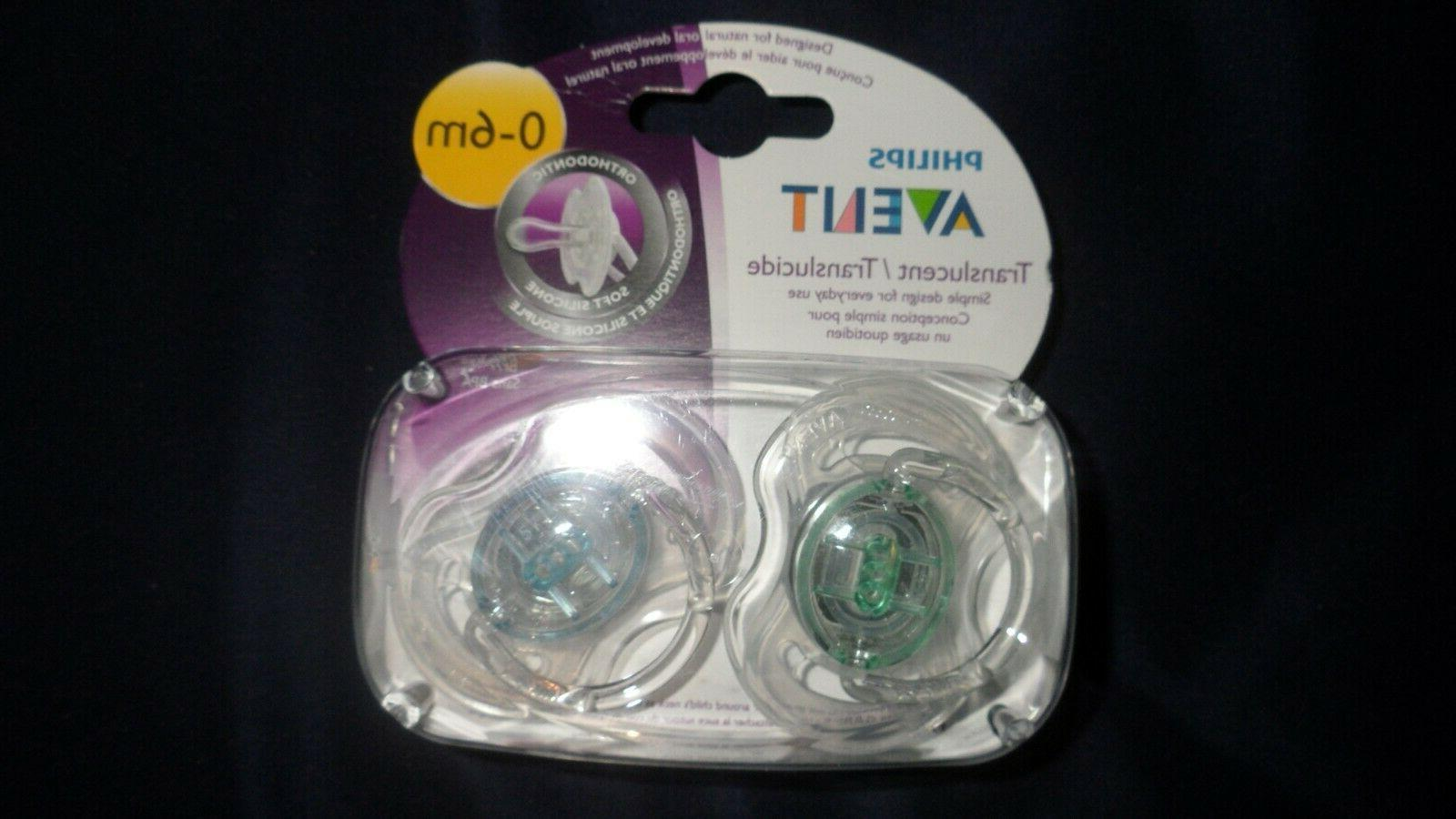 translucent pacifiers