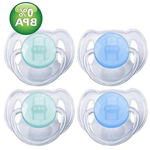 translucent toddler pacifiers