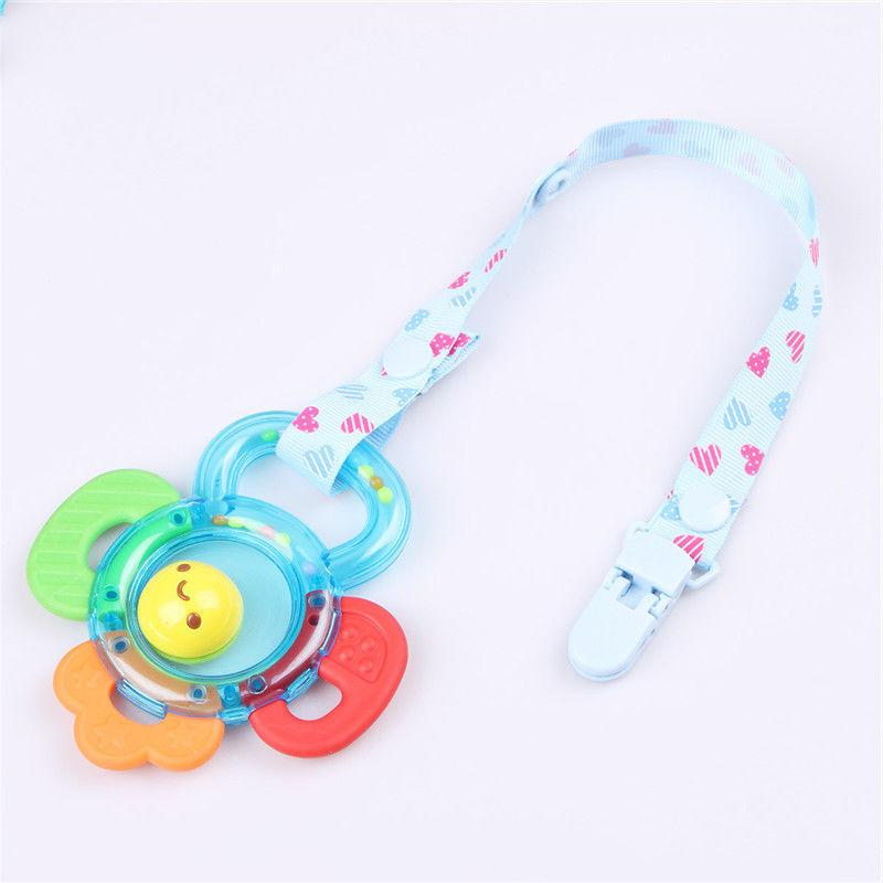 Unisex Infant Baby Dummy Pacifier Holder Dummy Nipple Chain