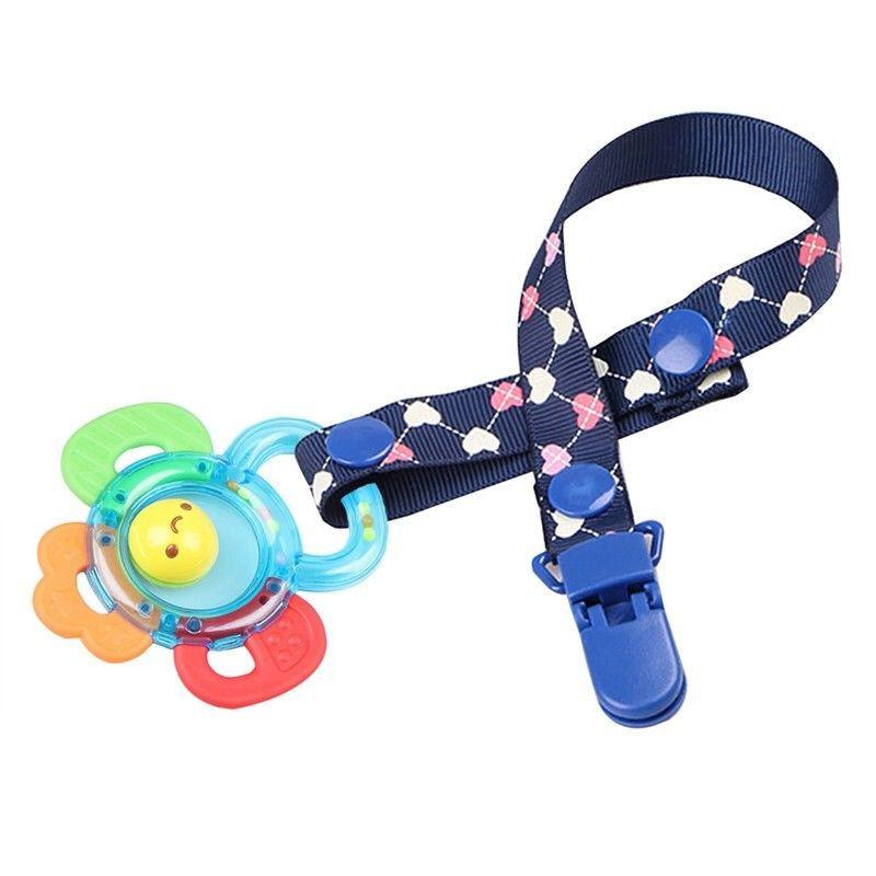 Unisex Dummy Pacifier Holder Clip Dummy