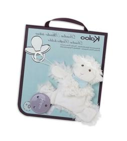 Kaloo - Les Amis Vanille Lamb Doudou Soother/Pacifier Holder