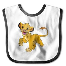 YLMG Lion King Imitation Silicone Bib Easily Wipes Clean Com