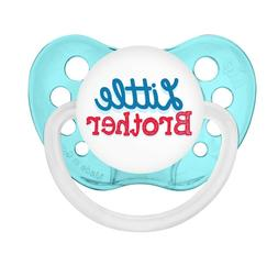 Little Brother Pacifier - Aqua Blue - Boys - Ulubulu - 0-6 m
