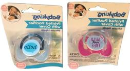 LOT/2 BABY KING PACIFIER SOFT SILICONE PINK/ Wild And Free B