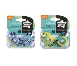 lot of 2 packs tommy tippee pacifiers