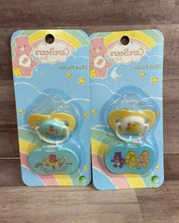 Lot of 2 Sets Of Care Bears Baby BPA Free Pacifiers