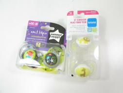 Lot of 4 Mam 6 month+ and Tommee Tippee Orthodontic Pacifier