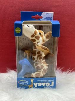 Dr. Brown's Lovey Pacifier and Teether Holder, 0 Months Plus