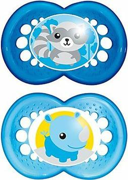 MAM Original Soothers with Sterilisable Travel Case