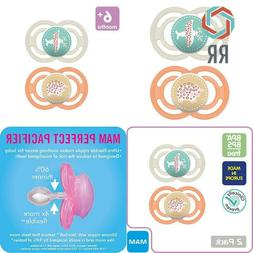 Mam Perfect Pacifiers, Orthodontic Pacifiers  Mam Pacifiers