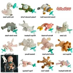 Mary Meyer WUBBANUB Soothie Baby Pacifier Plush Animal Holde