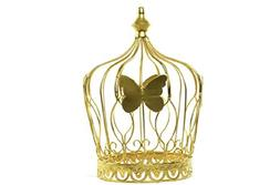ICE WASHINGTON home series Metal Crown Butterfly Design - Go