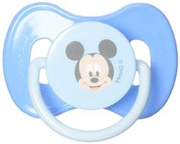 Disney Mickey Mouse Pacifier & Holder  Set of 2