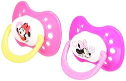 Disney Minnie Mouse 2 Pack Orthodontic Pacifier Set