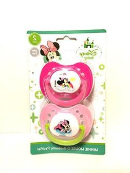 Minnie Mouse Orthodontic Pacifier 2 pack