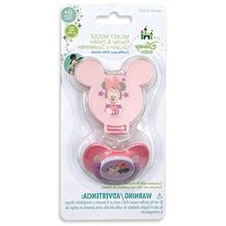 Minnie Mouse Pacifier & Pacifier Case