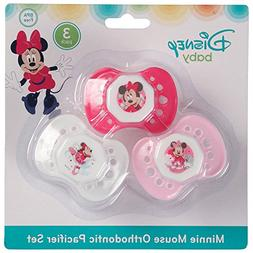 Disney Minnie Mouse 3 Pack Pacifier