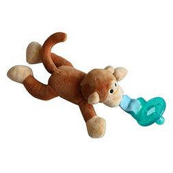 Monkey Pacifier Animal Plush Toy Infant Pacifier Baby Hangin