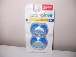 Playtex most like mother mom  classic pacifier all star blue