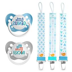 Ulubulu Mute Button and Future CEO Designs/Pacifier Clip Com