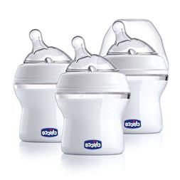 Chicco NaturalFit 3 Pack Baby Bottles Slow Flow with Bonus S