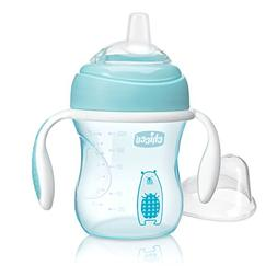 Chicco NaturalFit Soft Silicone Spout Transition Sippy Cup,