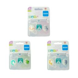 MAM Nature Soother Twin Pack - 0m+