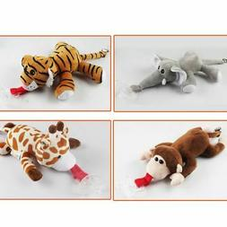 New Baby Pacifier Holder Hanging Removable Plush Animal Toy