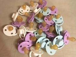 New Baby Pacifiers Boy or Girl Soft Air Center Pacifier Roun