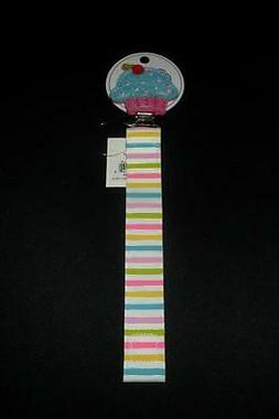 NEW MUD PIE CUPCAKE BABY PACY CLIP HOLDERS BABY SHOWER GIFTS