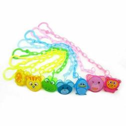 New Dummy Clip Baby Soother Clips Chain Holder Pacifier Stra
