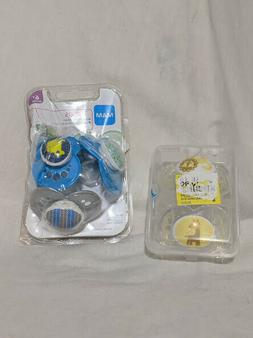 new lot of 5 baby pacifiers baby