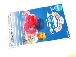 NEW PINK BABY KING SOFT SILICONE PACIFIER 0+ MONTHS BPA FREE