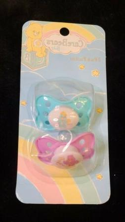 NEW  Care Bears Baby Pacifiers New In Box American Greetings
