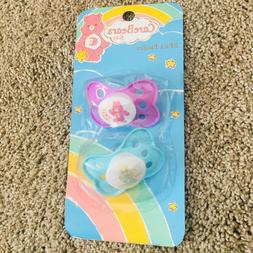 NEW  Care Bears Baby Pacifiers New In Box Perfect Condition