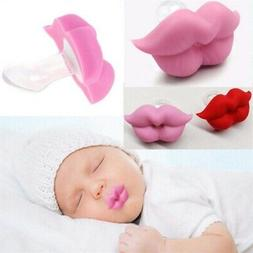 Adorable Kiss Lips Baby Kids Pacifier Funny Baby Orthodontic