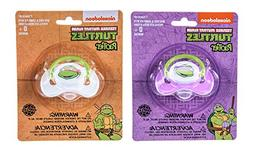 Nickelodeon Ninja Turtles Pacifier 2 Pack for Baby Infant To