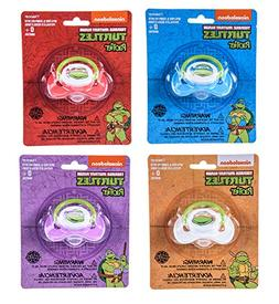 Nickelodeon Teenage Mutant Ninja Turtles Pacifier 4 Pack for