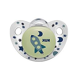 NUK Night and Day Baby Pacifier 6-18 m Silicone Glows in The