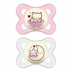 MAM Night Orthodontic Pacifier  Boy - 2 Pack