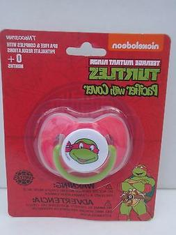 NINJA TURTLES Baby Pacifier NEW Red ~ FREE SHIP ~ RAPHEL