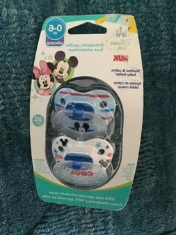 NUK Disney Baby Mickey Mouse Puller Pacifier, 0-6 Months   N