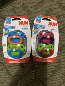 NUK 0-6 Months Natural Shape Orthodontic Latex Pacifier - 2