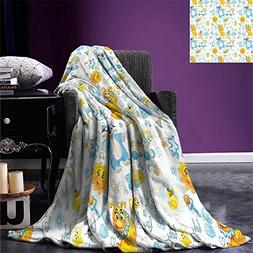smallbeefly Nursery Lightweight Blanket Its a Boy Image with